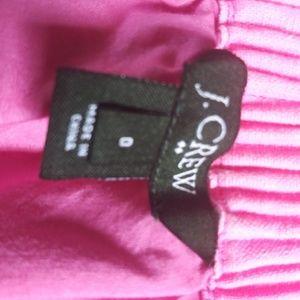 J. Crew Skirts - J.Crew Pink Paper bag Waist Skirt Sz 0